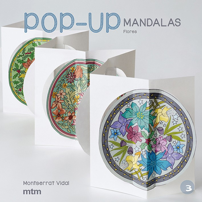 Pop-Up Mandalas. Flores