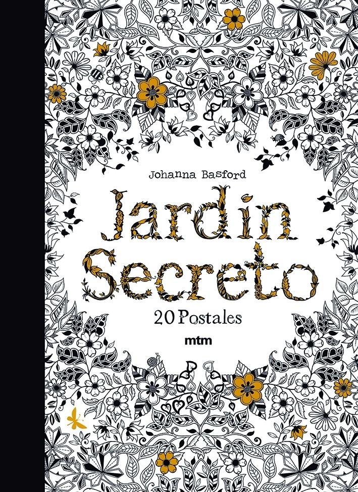Jardín Secreto. 20 postales