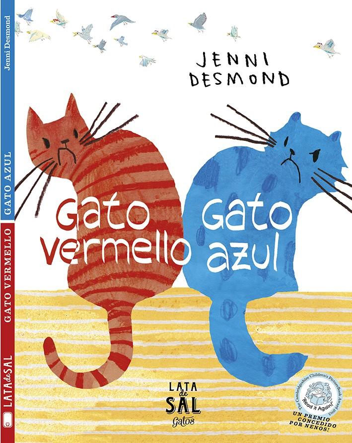 Gato vermello, gato azul