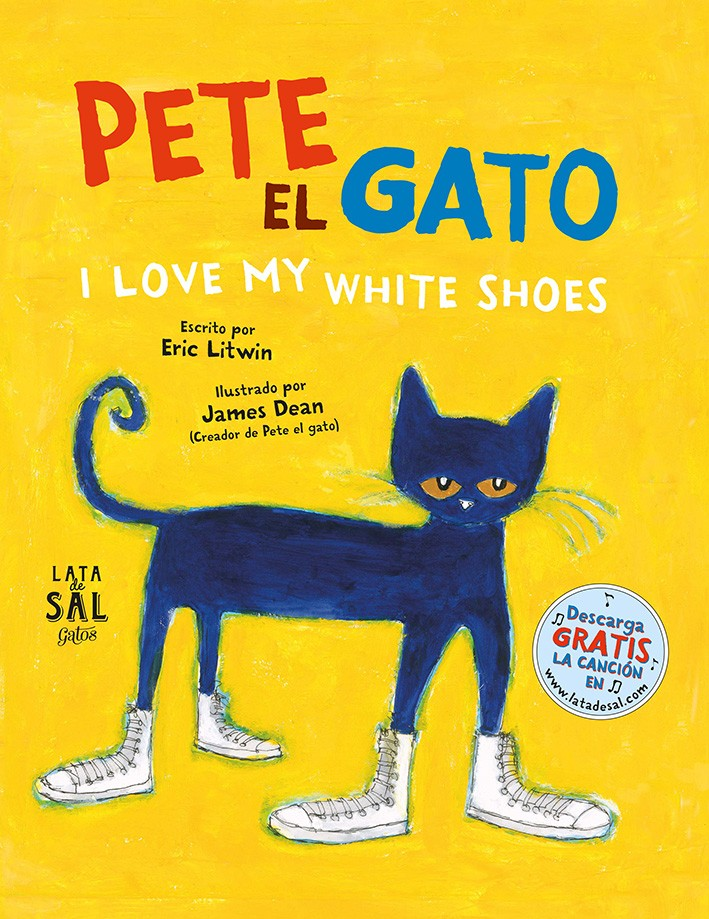 Pete el gato. I love my white shoes