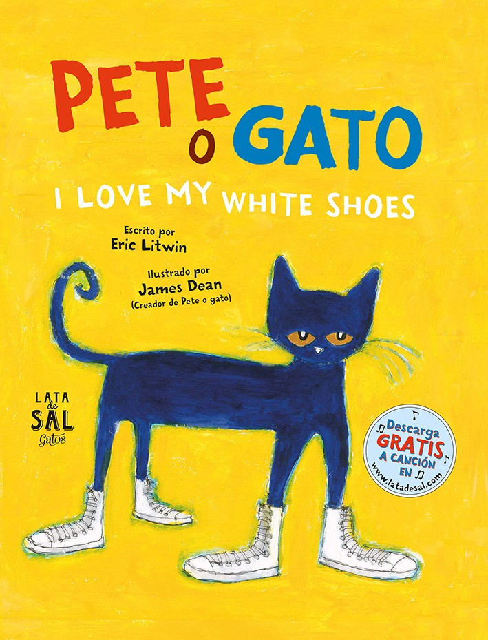 Pete o gato. I love my white shoes