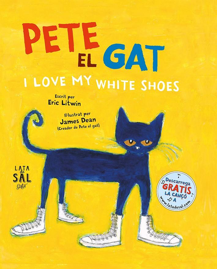 Pete el gat. I love my white shoes